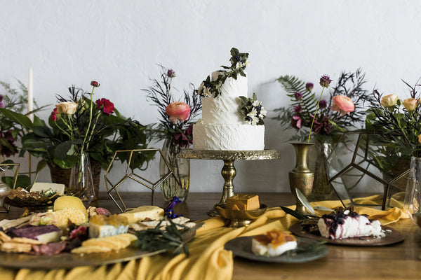 Mustard Golden Gauze Table Runner - Partycrushstudio