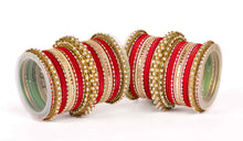Traditional Yellow Colored Bangle Set For Two Hand By Leshya
