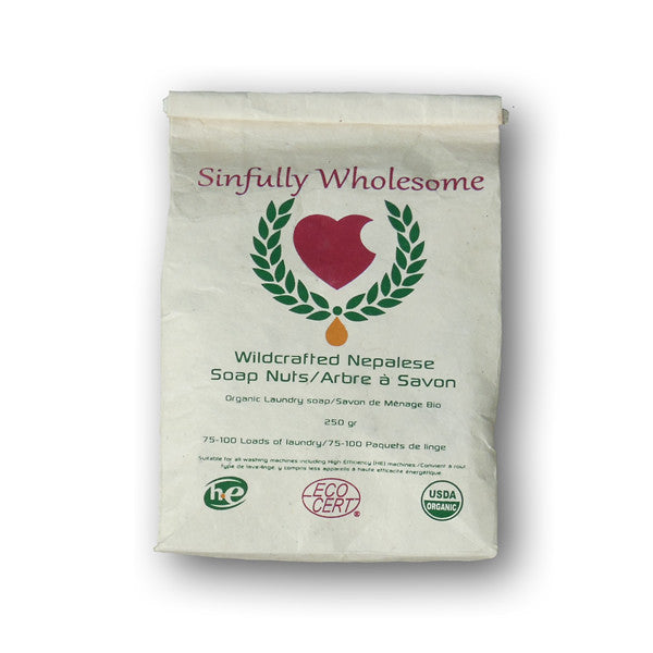 Soap Nuts - 250 gram bag - Sinfully Wholesome