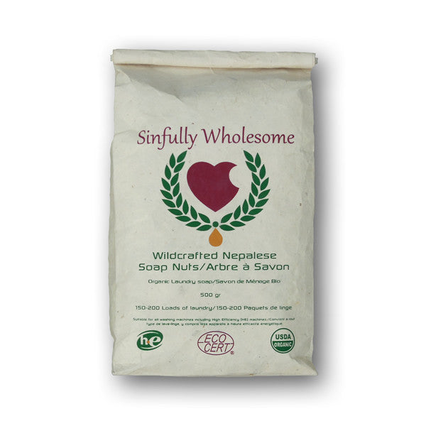 Soap Nuts - 500 gram bag - Sinfully Wholesome