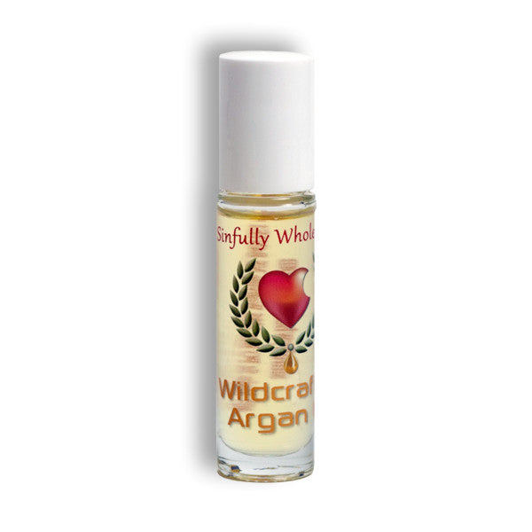 Sinfully Wholesome Argan Oil 10.5 ml roll on bottle