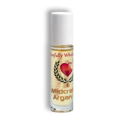 Argan Oil - 10.5 ml roll on bottle - Sinfully Wholesome