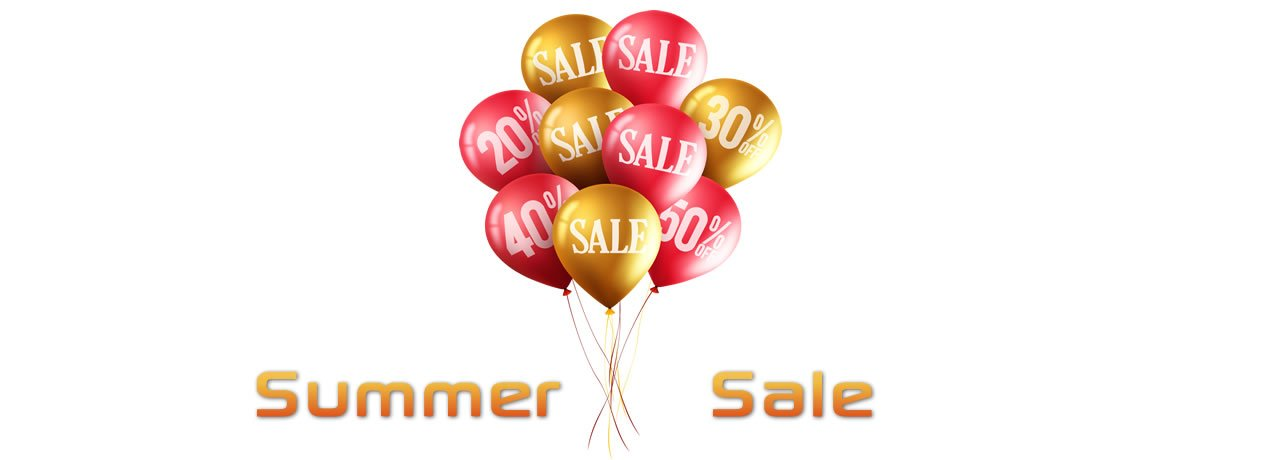 Summer Sale - Save Up To 50%