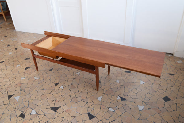 Table basse coulissante White & Newton