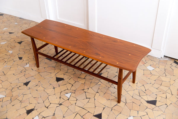 Table basse scandinave 122cm