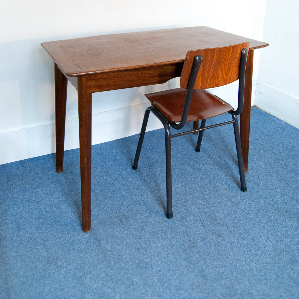 Table/bureau Teck massif - Scandinave - Monsieur Joseph - 1