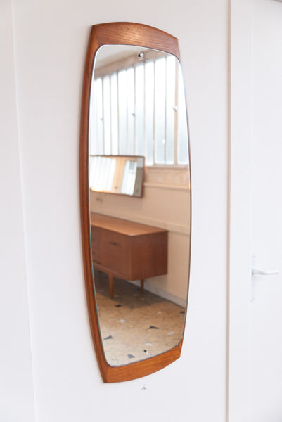 Grand miroir scandinave oblong