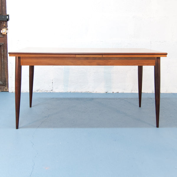 Grande table de repas scandinave à rallonges - Vintage - Monsieur Joseph - 1