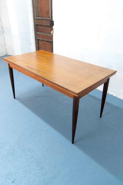 Grande table de repas scandinave à rallonges - Vintage - Monsieur Joseph - 2