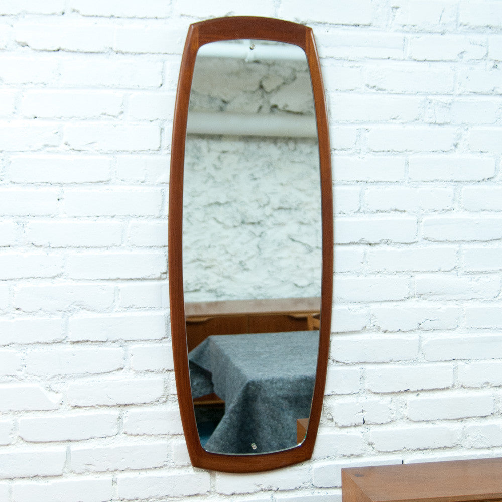Grand miroir scandinave oblong vintage monsieur joseph for Grand miroir antique