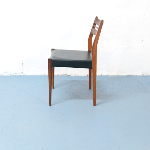 Chaise Scandinave en Teck (2 disponibles)