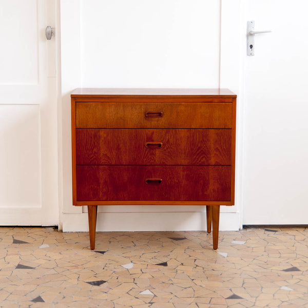 Commode scandinave en teck