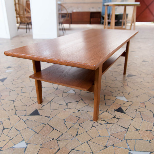 Table basse scandinave 123cm