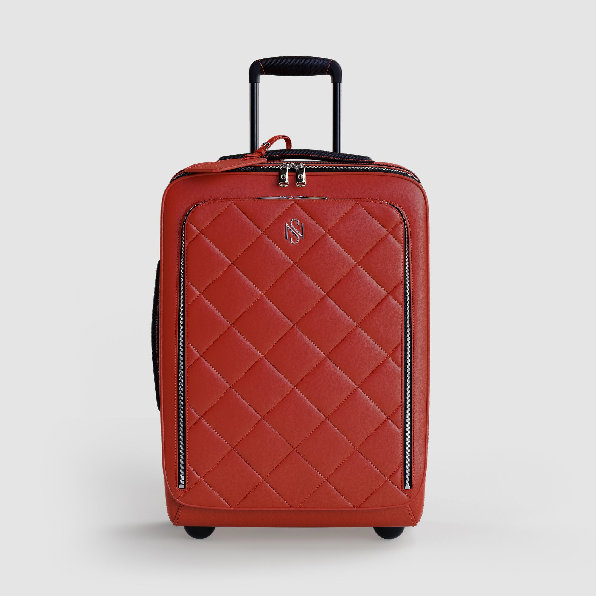 Red Carry-On Luggage