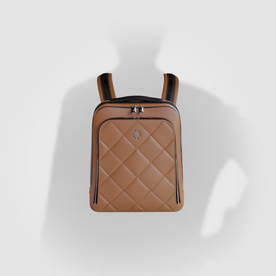 Sand Leather Luxury Backpack