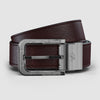 Odysseus Platinum Black & Brown Belt