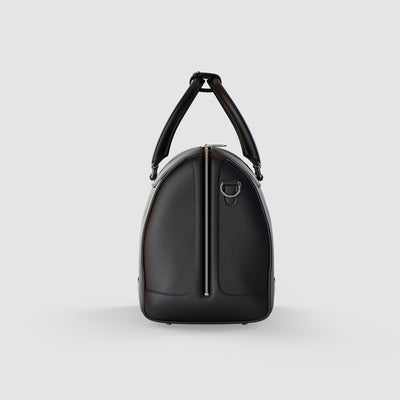 Soul of Nomad Black Luxury Duffle Bag