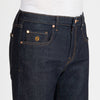Men's Skinny Luxury Jeans Dark Blue