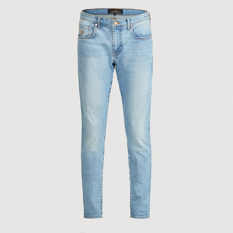 Men's Skinny Luxury Jeans Light Blue