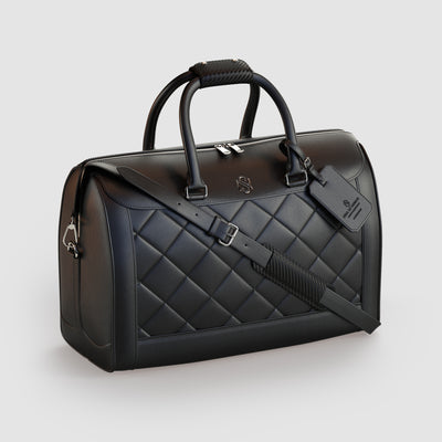 Black Luxury Duffle Bag