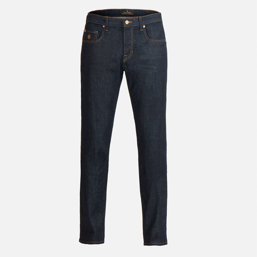 Brentwood Slim Straight Jeans - Azimuth Navy