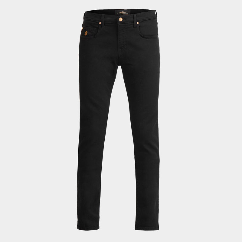Men's Slim Luxury Jeans Black Wash