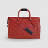 Red Lather Luxury Duffle