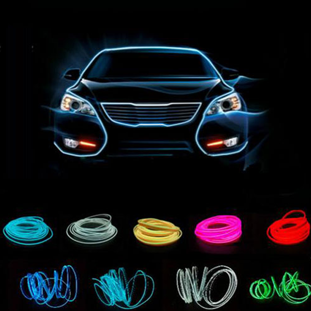 LED Neon Car Lights