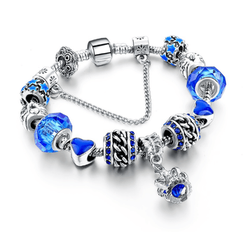 Bracelet Charms Royal Blue
