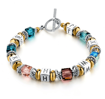 Bracelet Charms Crystal Murano