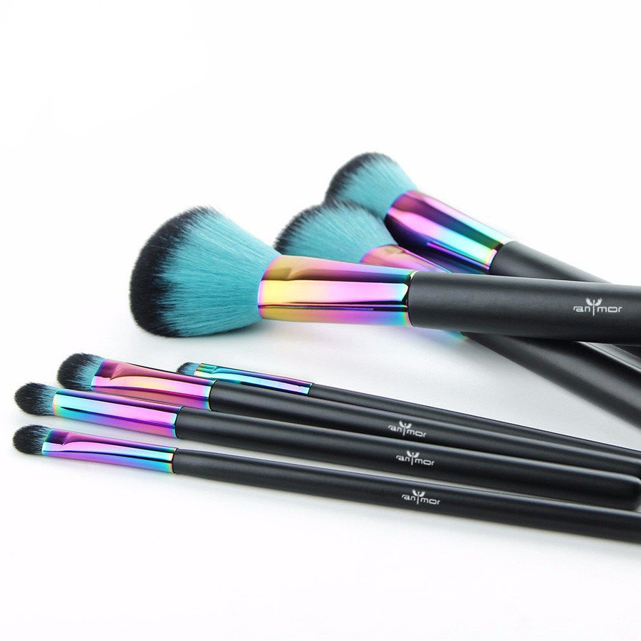 Copper 7 pcs Makeup Brush
