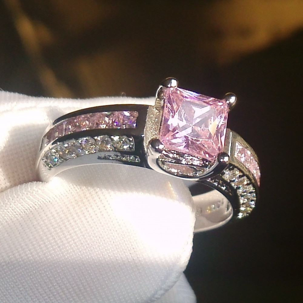 Elite Bague Rose Saphire