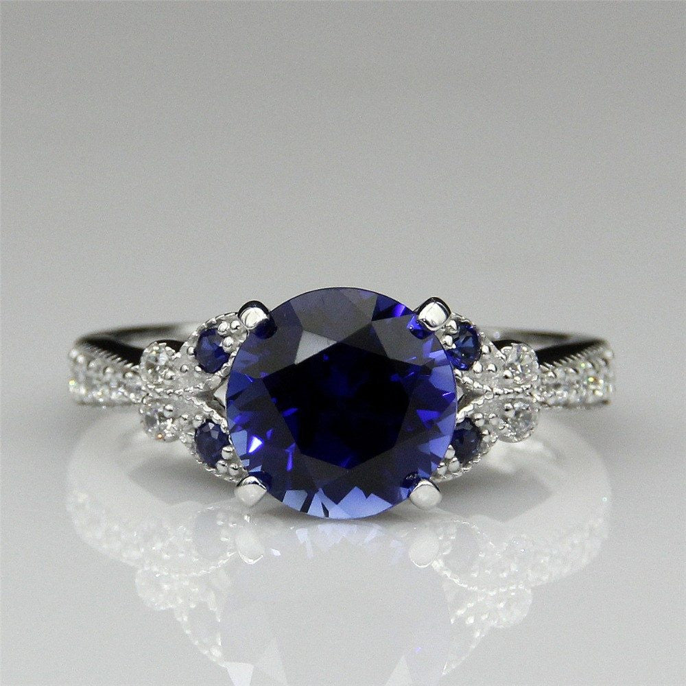 Eternel Bague Blue Saphir