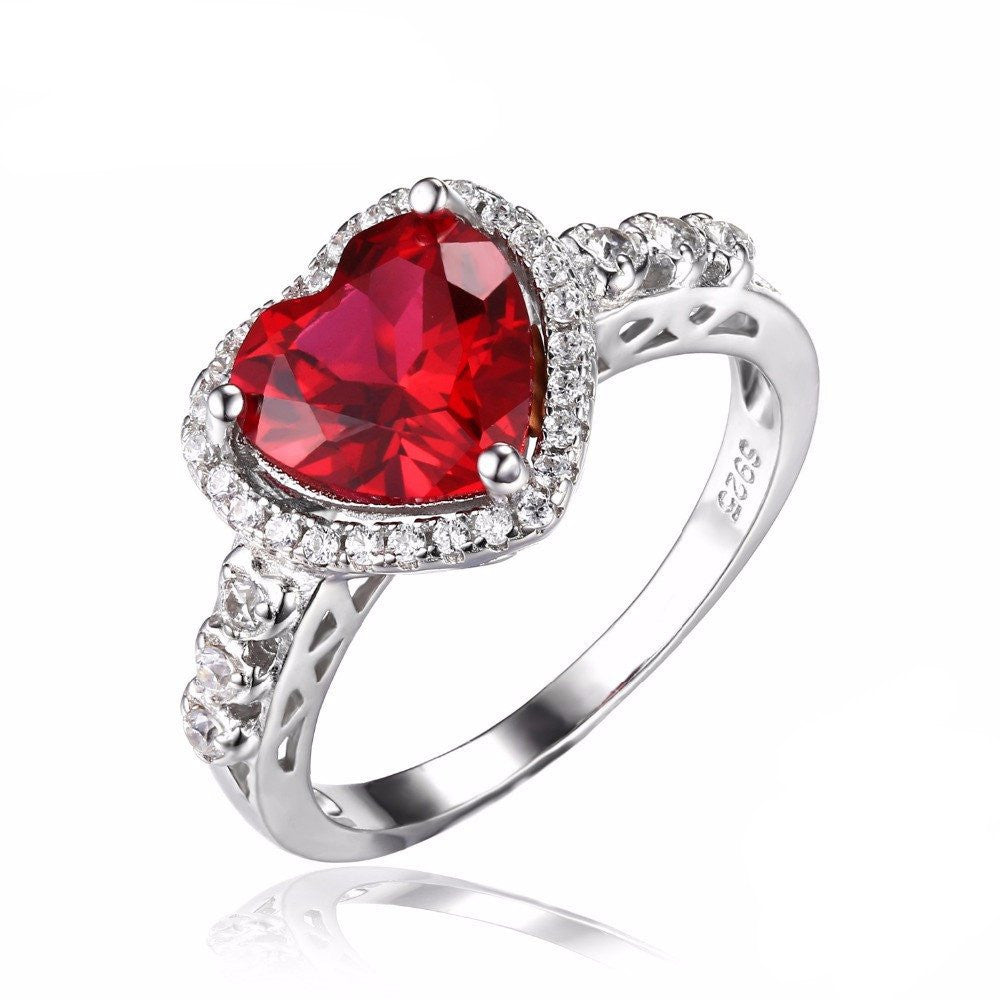 Elite Romantic Heart Bague