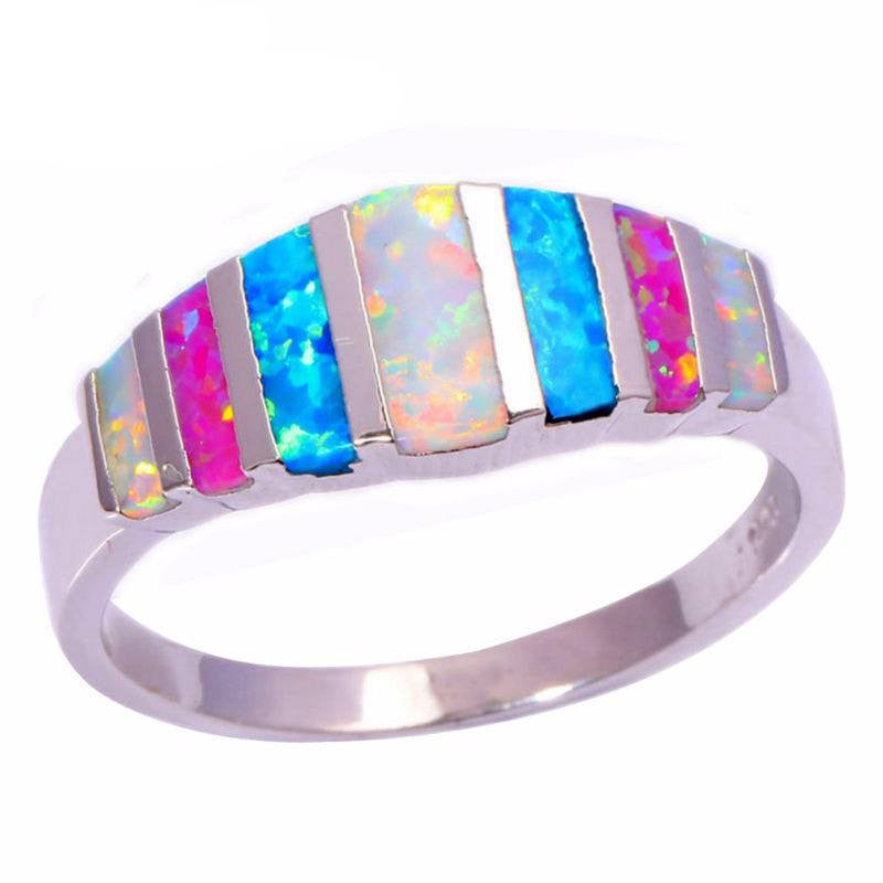 Elite Opal Rainbow Bague