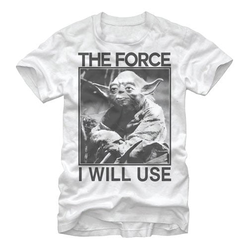 Star Wars Yoda Force Use T-Shirt
