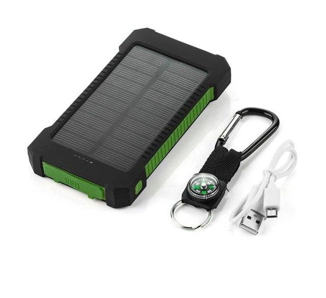 Solar Power Banks Smartphone