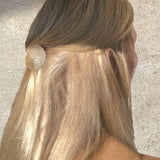 Clam Claw Hair Clip Multiuso - Crema Perlaceo - Alice Bow