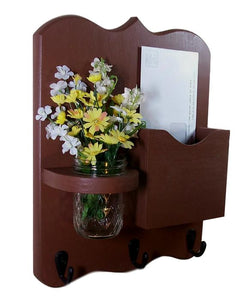 Mail Organizer - Mail Holder - Mail and Key Holder - Letter Holder
