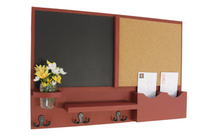 Mail Organizer -  Message Center - Cork -  Chalkboard