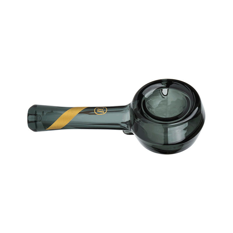 Smoked Glass Spoon Pipe