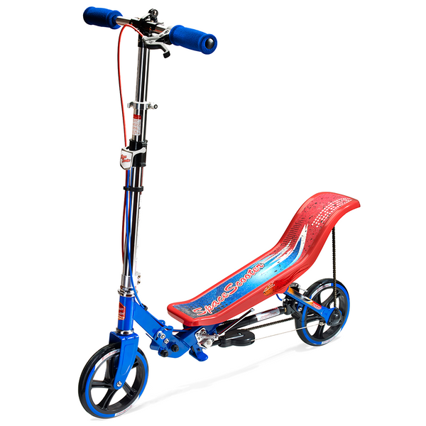 Space Scooter X580 - Rood & blauw (ESS2ReBu)