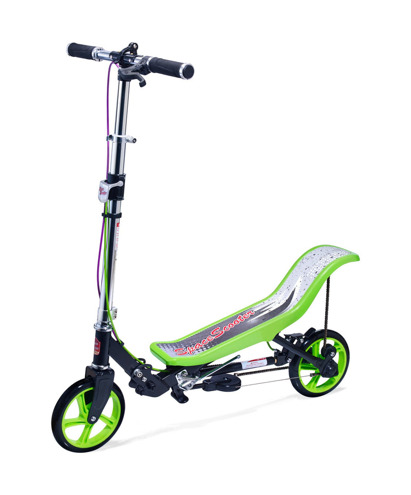 Refurbished Space Scooter (X590) - Black/Green (REFSPBAGR3)