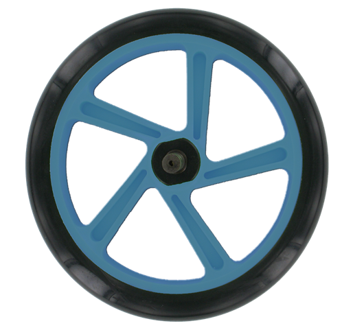 Space Scooter (x580) - Rear wheel, including axle