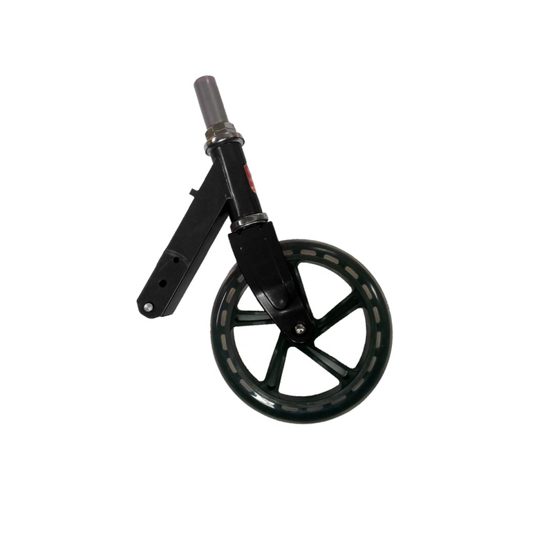 Space Scooter (x580) - Front fork with steering head (pink, old model) incl. Front wheel