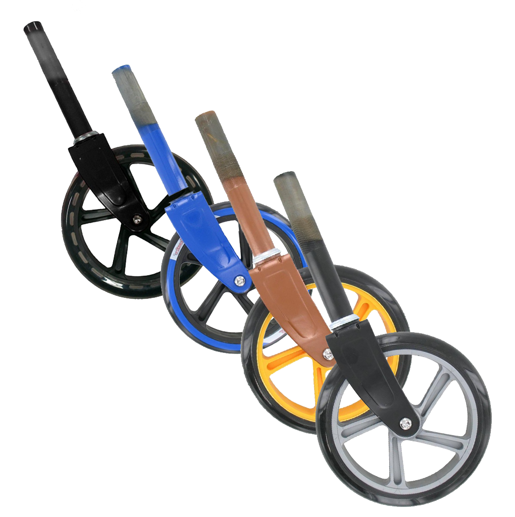 Space Scooter (x580) - Front fork including front wheel