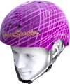 Space Scooter Helm Roze