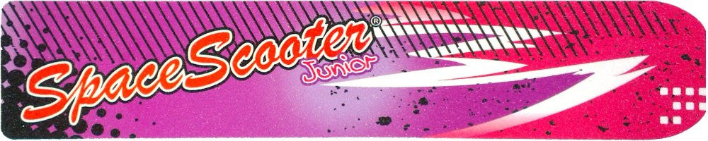 Space Scooter Junior (X360) - Autocollant de poignée - Violet / Rose