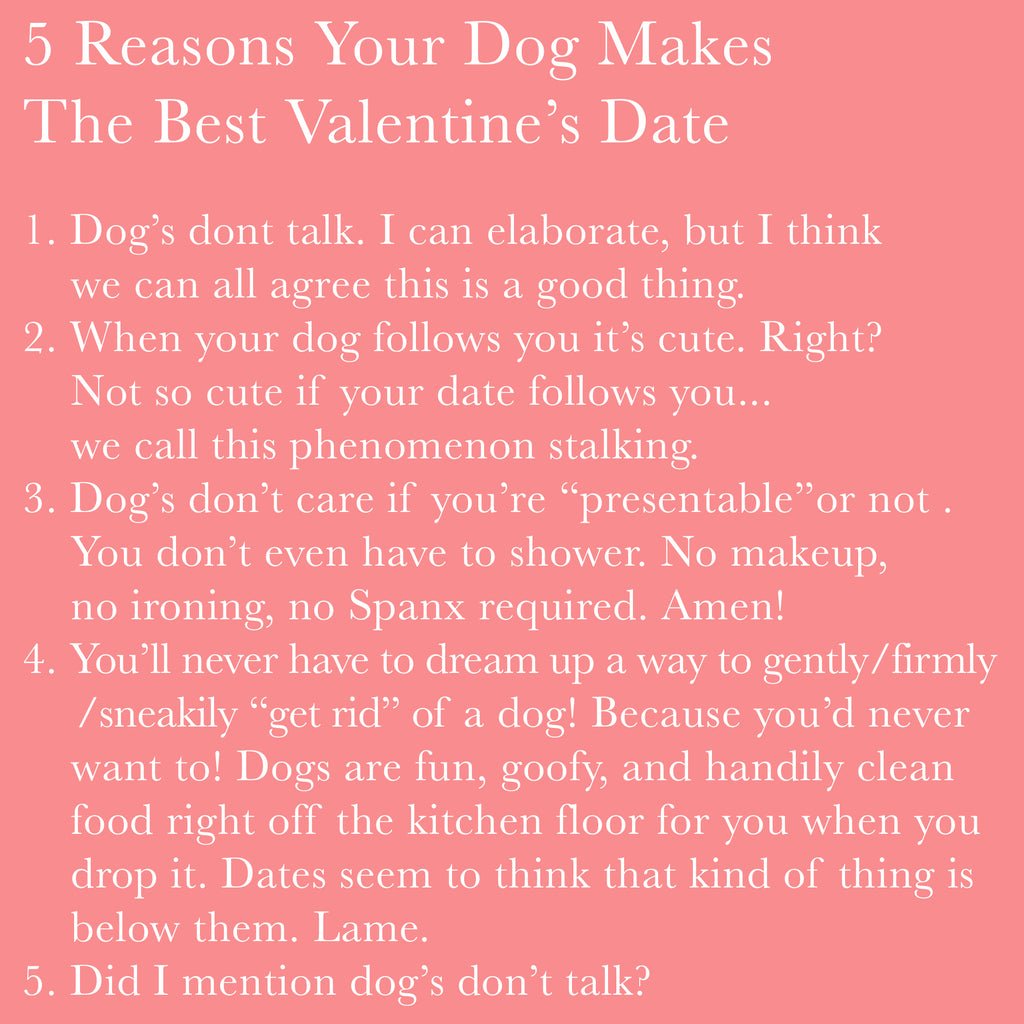 Why Your Dog Makes The Best Valentines!
