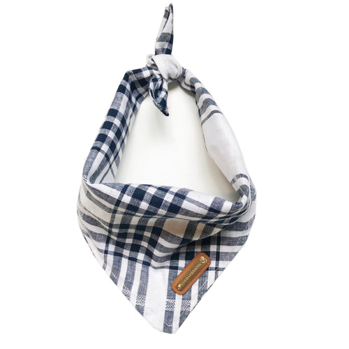 Classic Americana Plaid Dog Bandana Dog Bandana- Coco and Pistachio